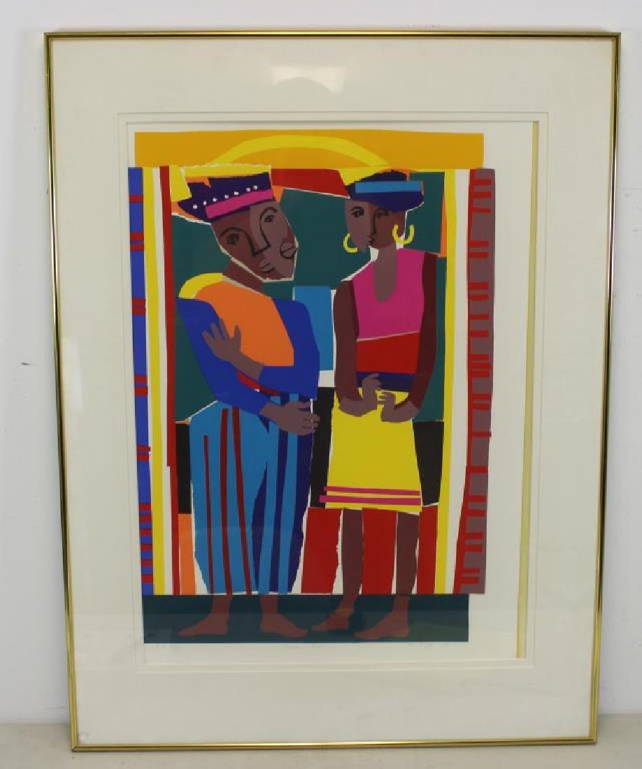 "MCNEILL, Lloyd. ""Rainbow People"". 1991."