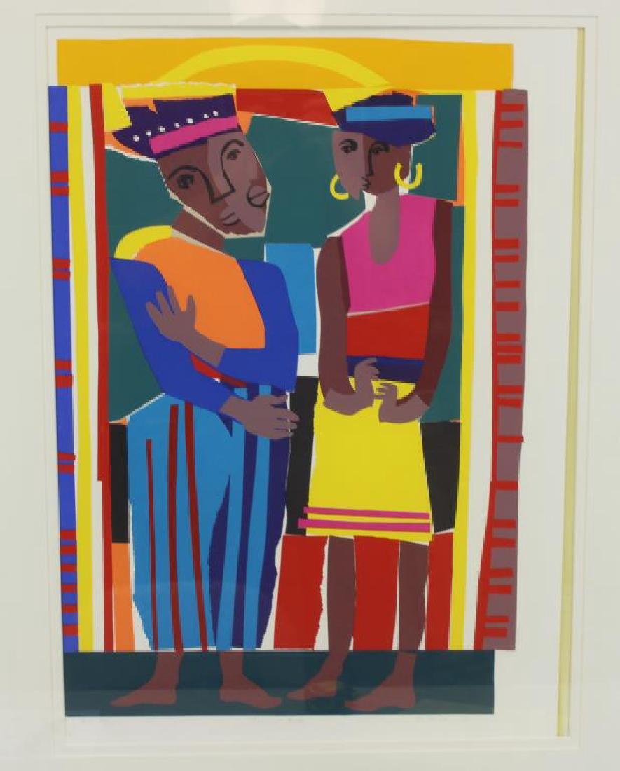 "MCNEILL, Lloyd. ""Rainbow People"". 1991. - 2"