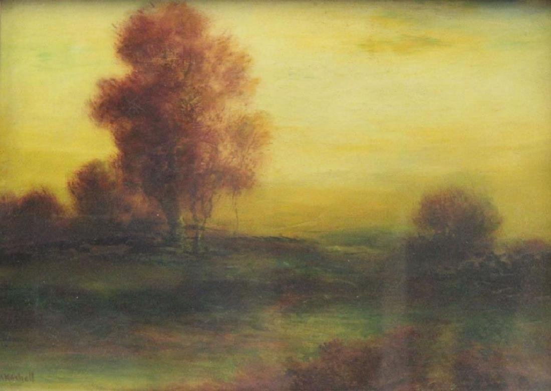 MIKSCHELL . Oil on Canvas. Landscape.