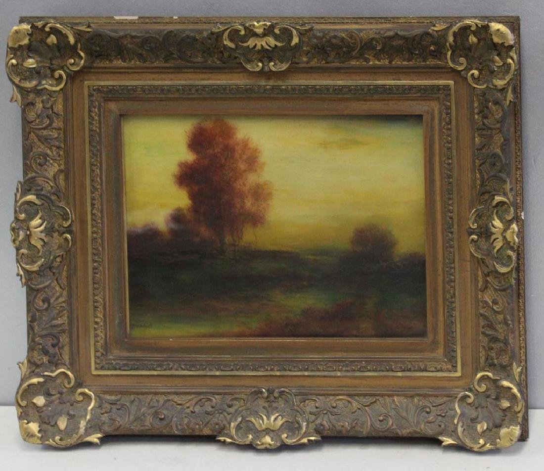 MIKSCHELL . Oil on Canvas. Landscape. - 3