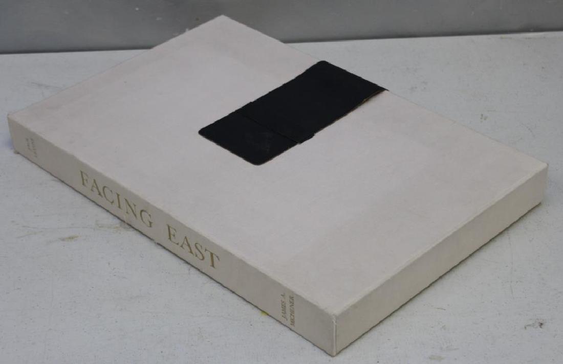 "LEVINE, Jack and James Michener. Folio. ""Facing"