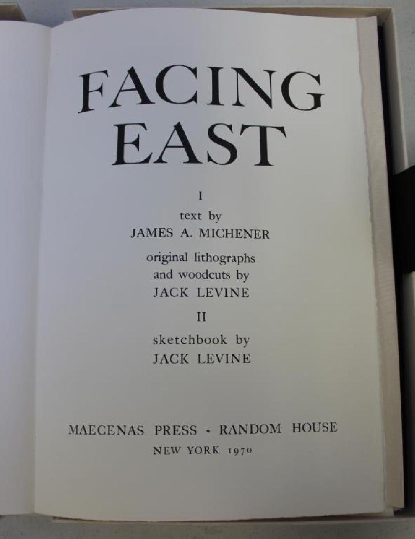 "LEVINE, Jack and James Michener. Folio. ""Facing - 3"