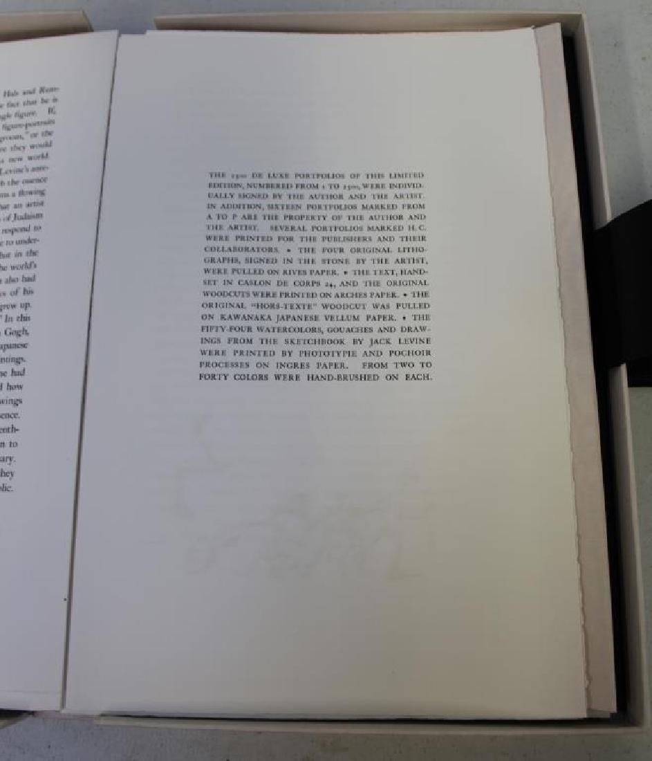 "LEVINE, Jack and James Michener. Folio. ""Facing - 4"