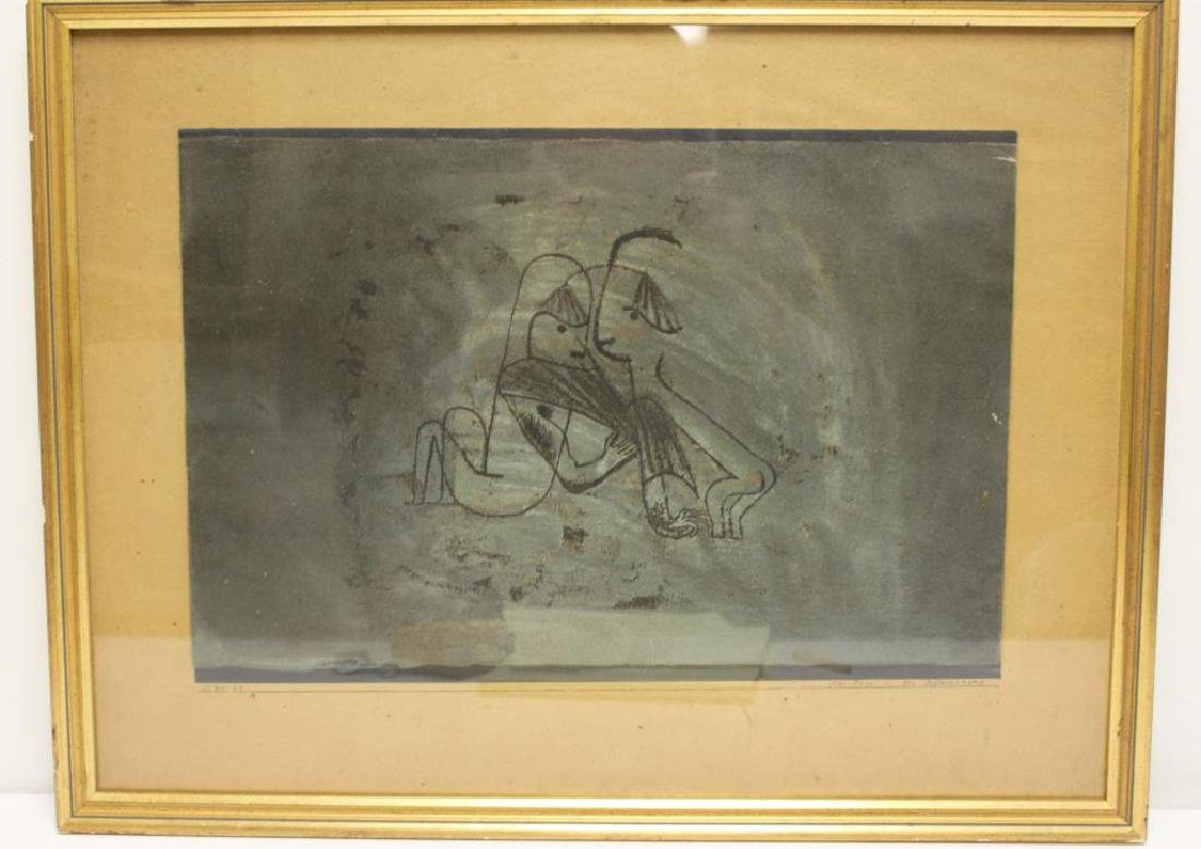 "KLEE, Paul. After. Lithograph. ""Clas Paar In - 2"