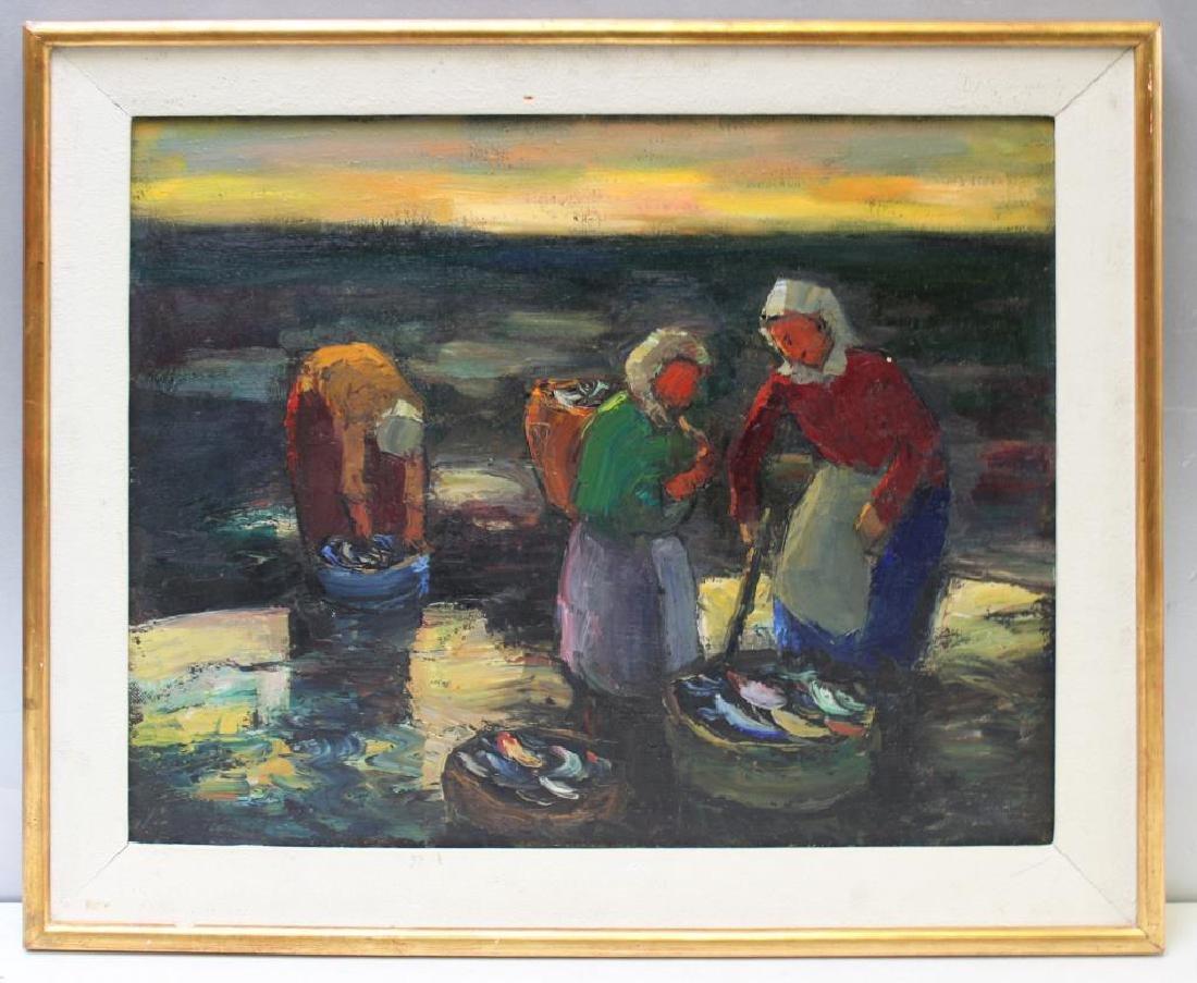 ALTAMIRANO, Pacheco. Oil on Canvas. - 2