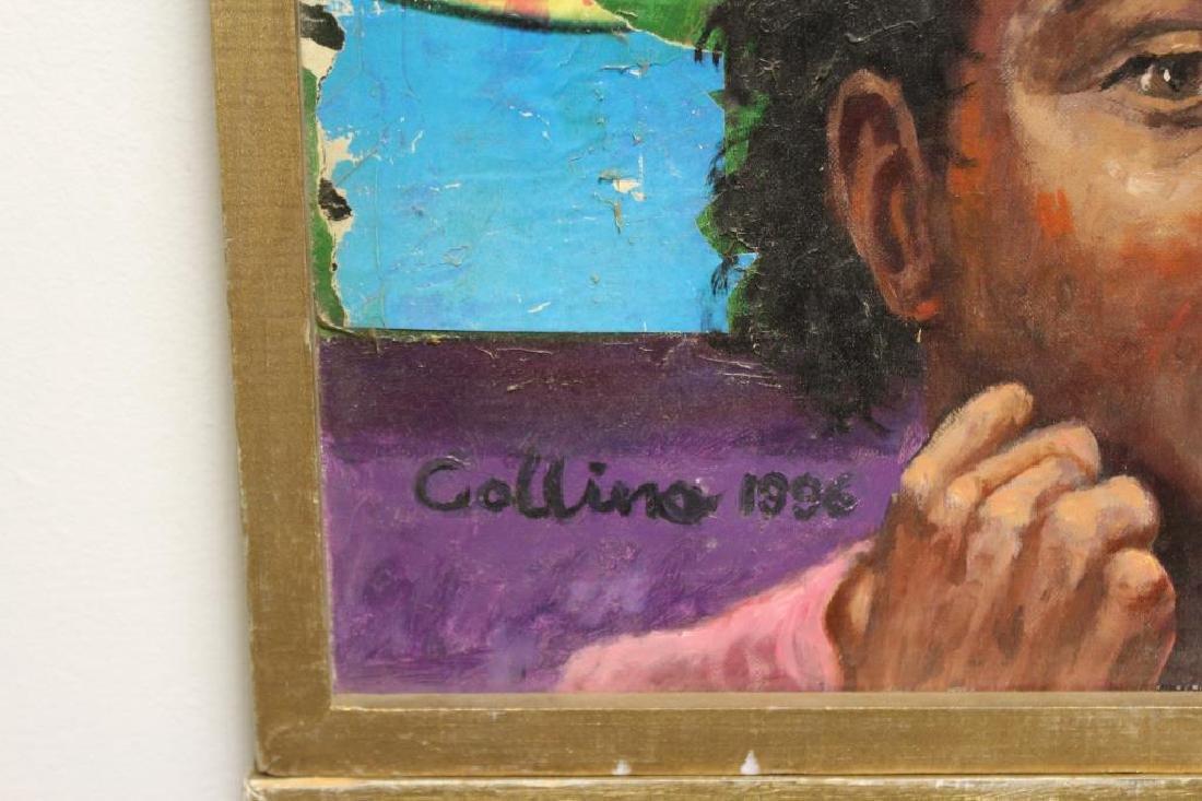 COLLINA, 2 Oil on Canvas. - 4