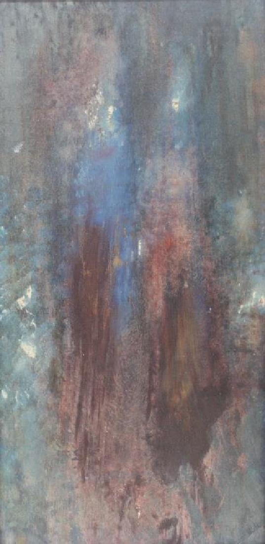 "LEVY, Tibbie. Oil On Canvas. ""Las Mujeres""."
