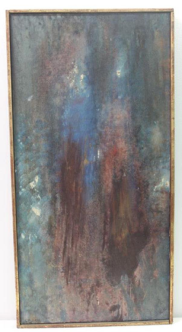 "LEVY, Tibbie. Oil On Canvas. ""Las Mujeres"". - 2"