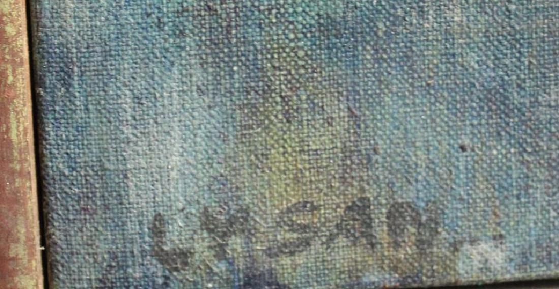 "LEVY, Tibbie. Oil On Canvas. ""Las Mujeres"". - 3"