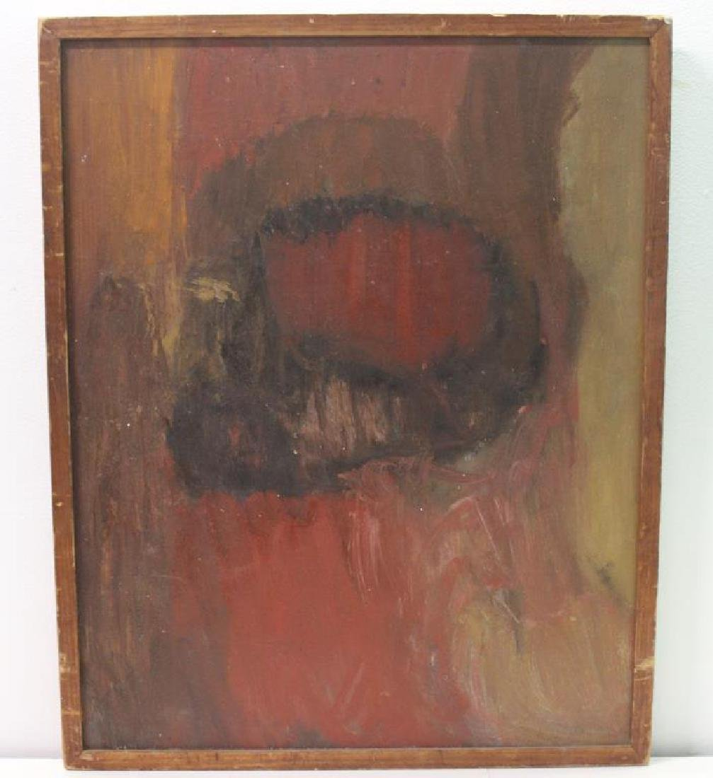 WEINSTEIN, Florence. Oil On Board. Abstract - 2