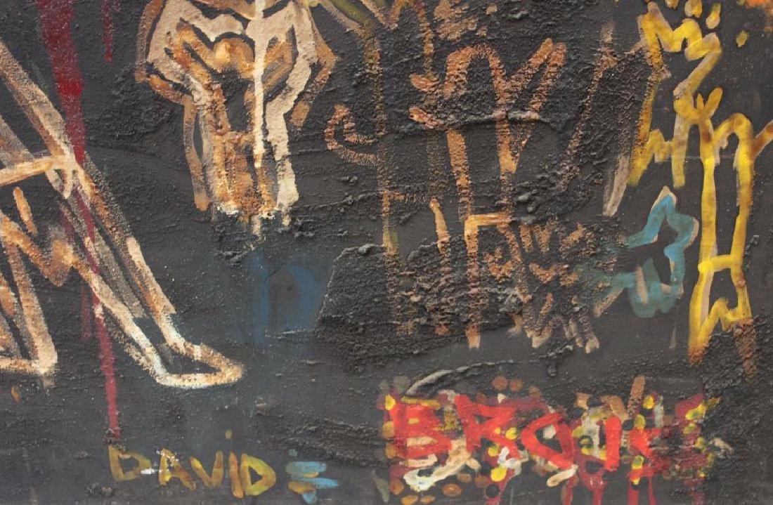 BROIS, David. Oil on Canvas. Fantasy Scene. - 3