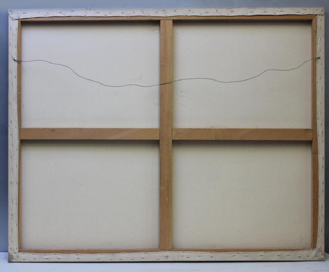MCCABE, Jim. Oil on Canvas. Modern Composition - 3