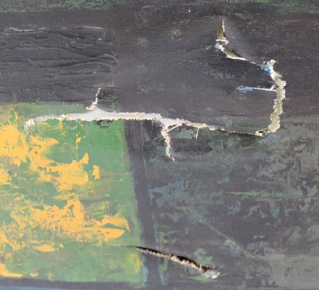 RICARDI. Oil on Canvas. Abstract. - 3