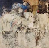 SANCHEZ Juan Oil on Canvas Abstract