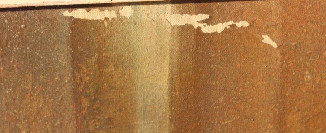 """BECK, Margit. Oil On Canvas. """"Prisms"""". - 5"""