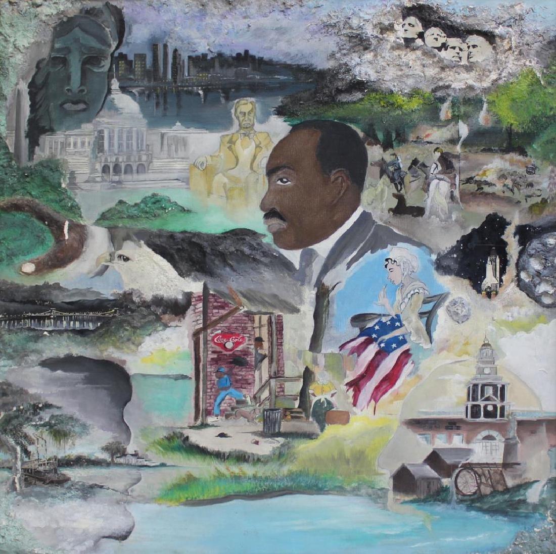 SANDIFORD, Randy. Mixed Media on Canvas.