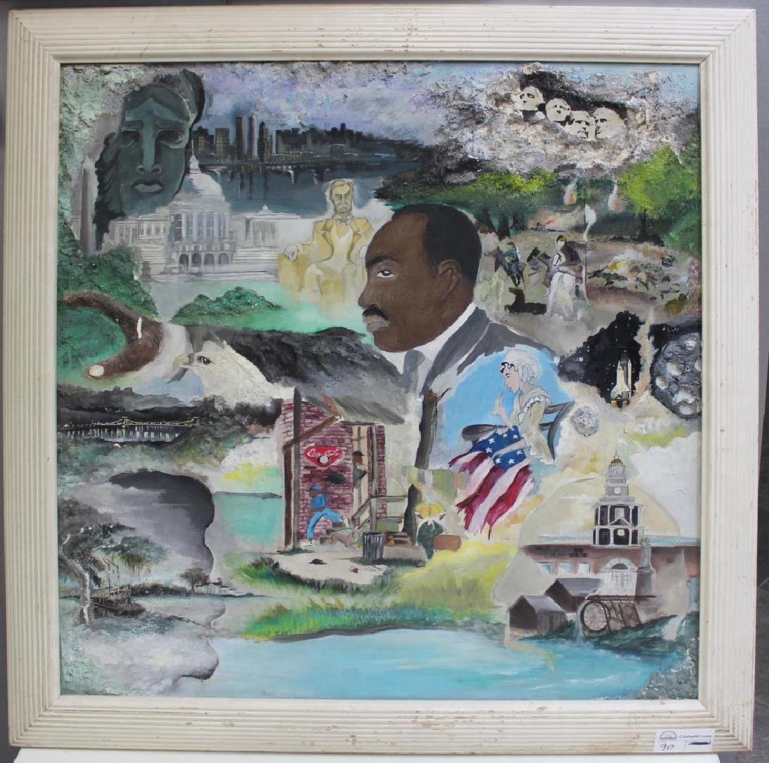 SANDIFORD, Randy. Mixed Media on Canvas. - 2