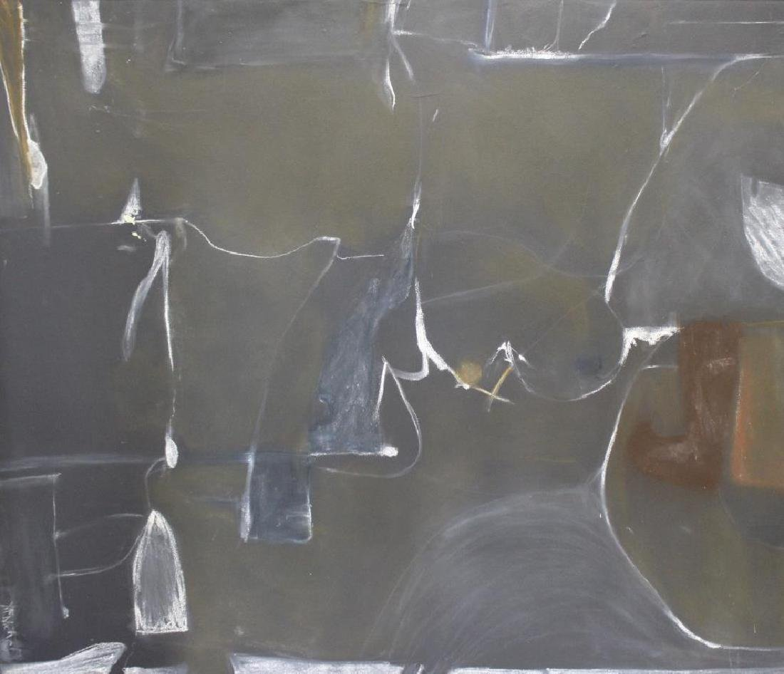 MCNICHOL. Oil On Canvas. Abstract Composition.