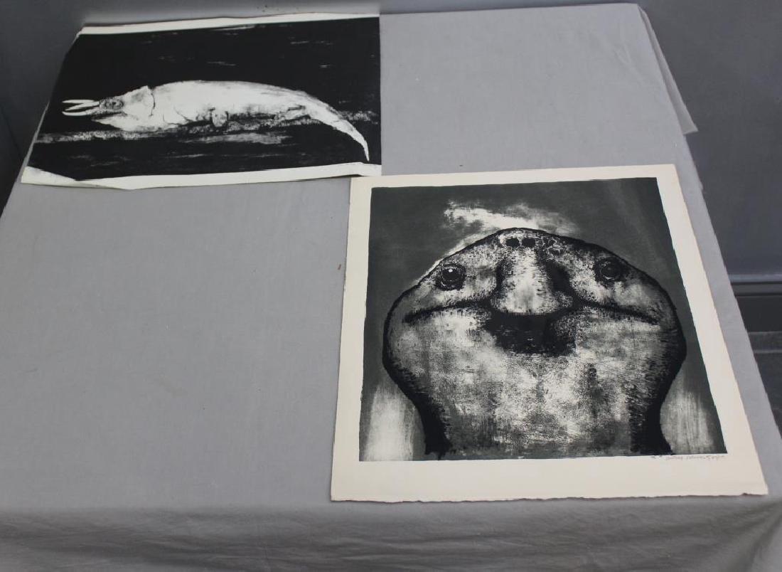 SCHWARTZ, Aubrey. Lithographs. 7 Black and White