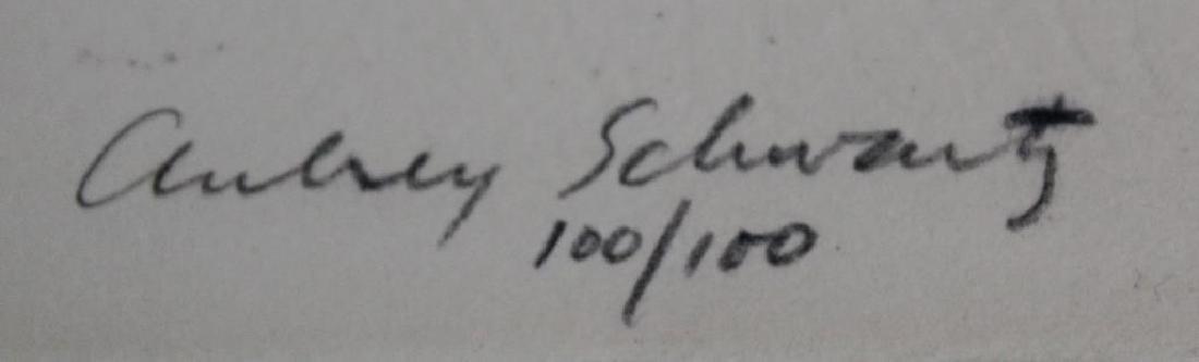 SCHWARTZ, Aubrey. Lithographs. 7 Black and White - 3