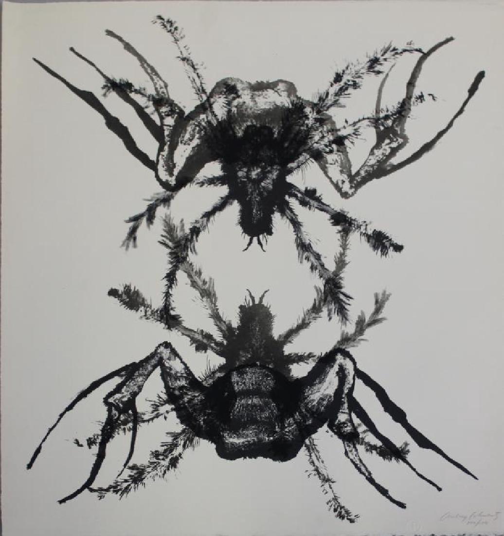 SCHWARTZ, Aubrey. Lithographs. 7 Black and White - 4