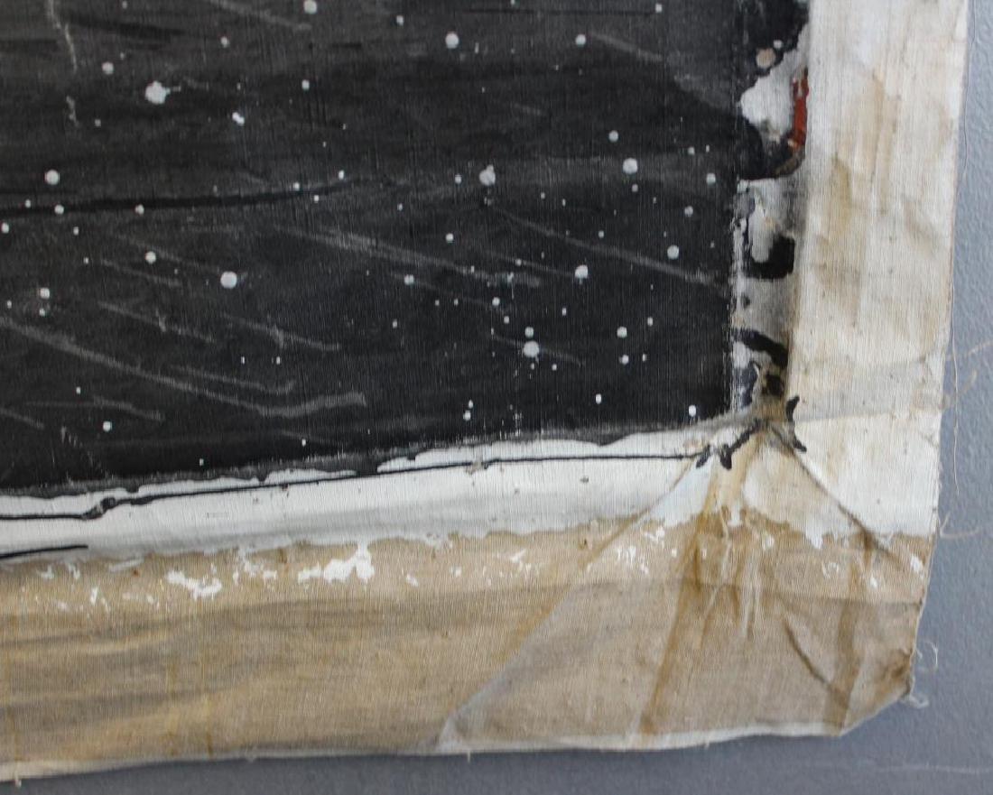 "ALBACETE, Alfonso. Oil on Canvas. ""La Metamorfosis - 3"