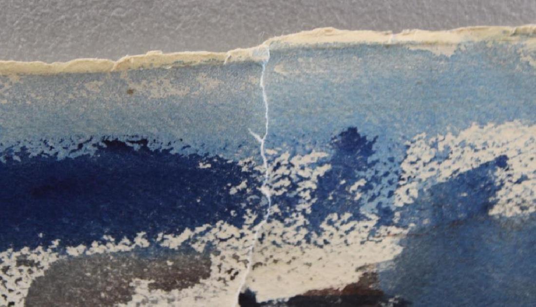 "MARZI. Oil on Paper. ""Bronx Epiphany (503)"". 1968. - 4"