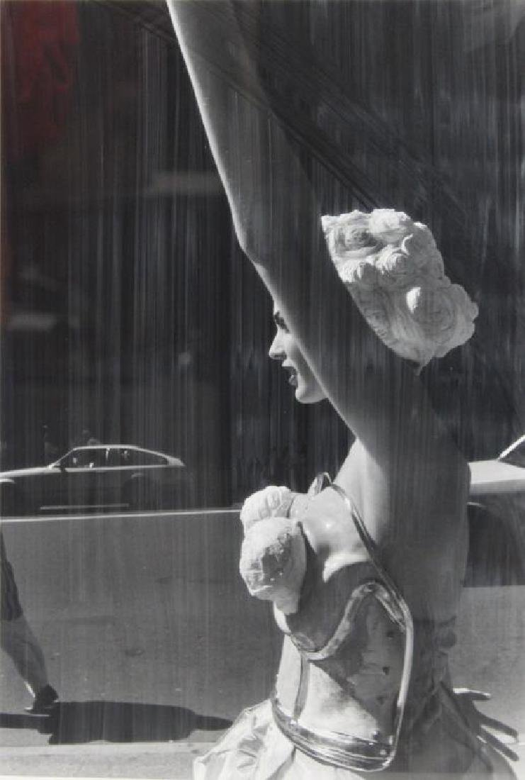 BATTEL, David. Gelatin Silver Print. Woman on