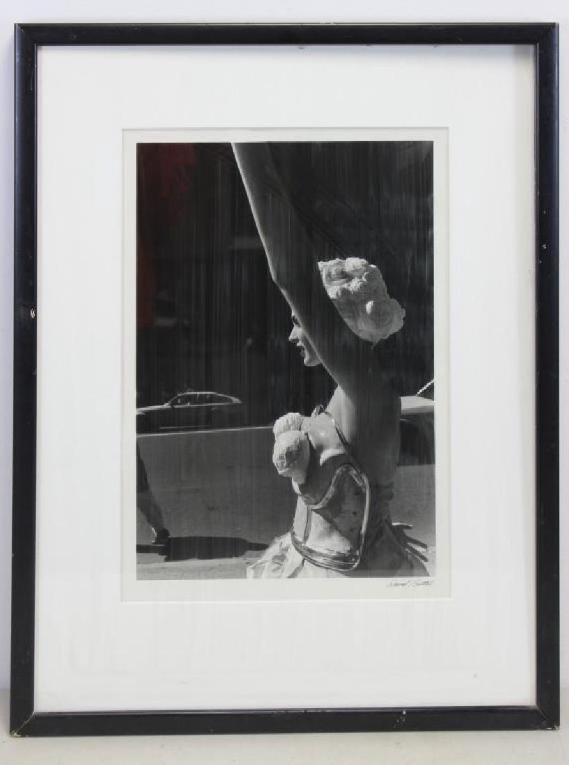 BATTEL, David. Gelatin Silver Print. Woman on - 2