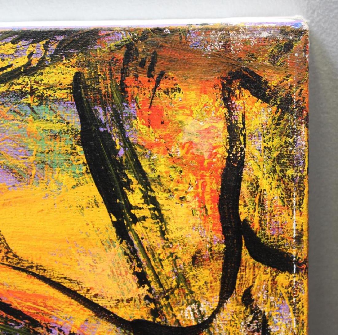 KIM, Hyo Soo. Oil on Canvas. Abstract Composition. - 4