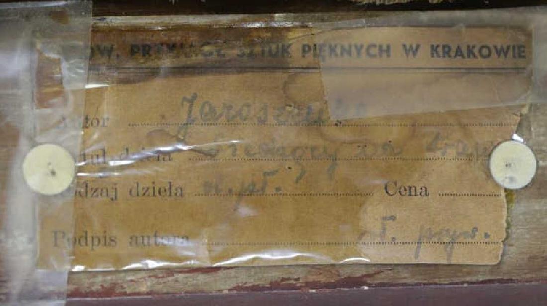 YAROSHENKO, Nikolai. Oil on Canvas. Seated Peasant - 13