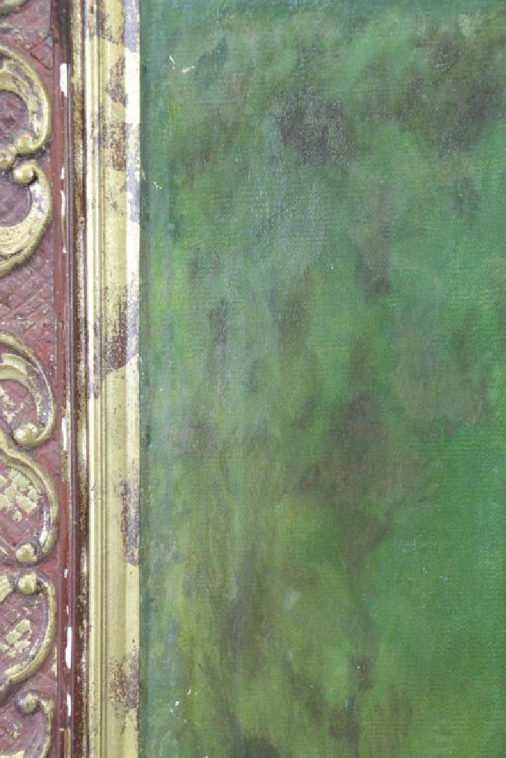 YAROSHENKO, Nikolai. Oil on Canvas. Seated Peasant - 9