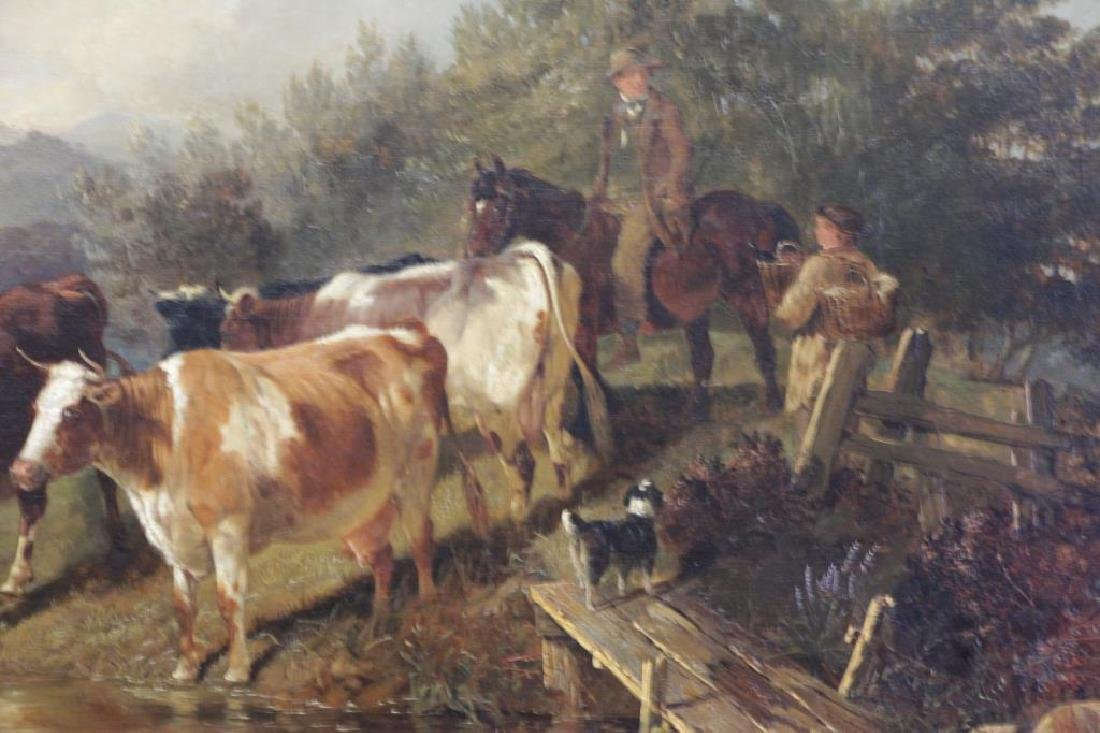COOPER, Thomas Sidney. Oil on Canvas. Drovers - 3