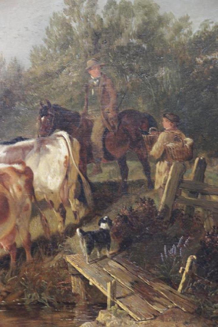 COOPER, Thomas Sidney. Oil on Canvas. Drovers - 4