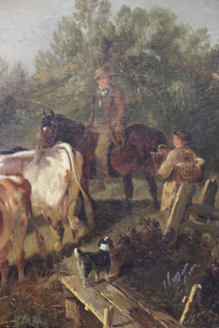 COOPER, Thomas Sidney. Oil on Canvas. Drovers - 5