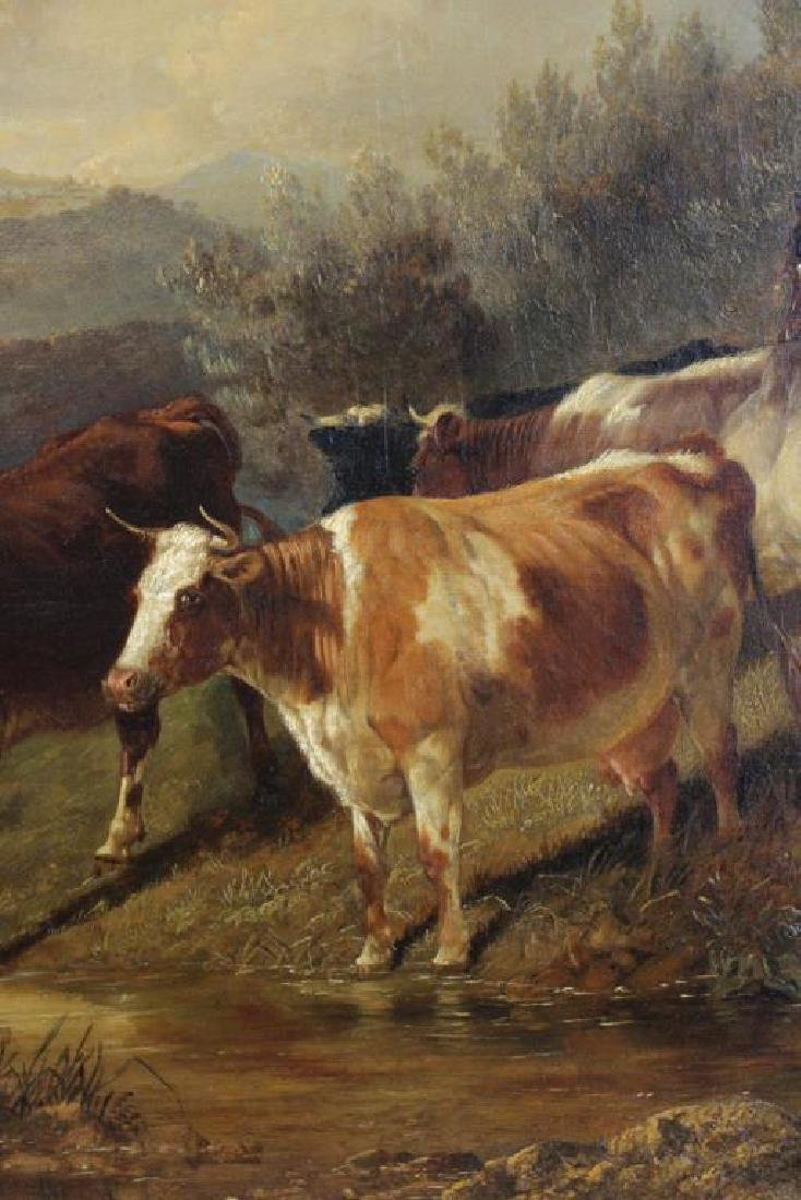 COOPER, Thomas Sidney. Oil on Canvas. Drovers - 6