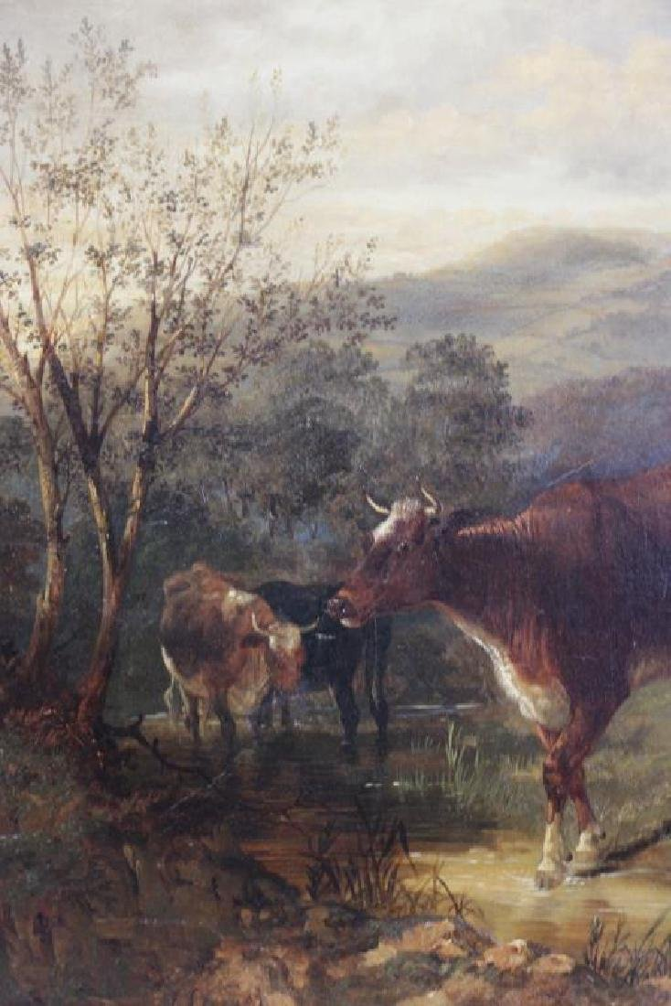 COOPER, Thomas Sidney. Oil on Canvas. Drovers - 7