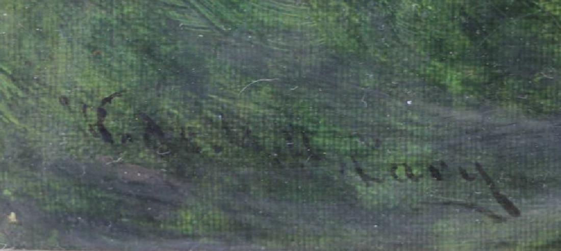 CARY, William De La Montagne. Oil on Canvas. Fish. - 4