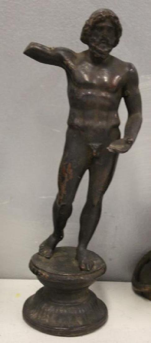 Grouping Of Antique Bronze Sculptures . - 4