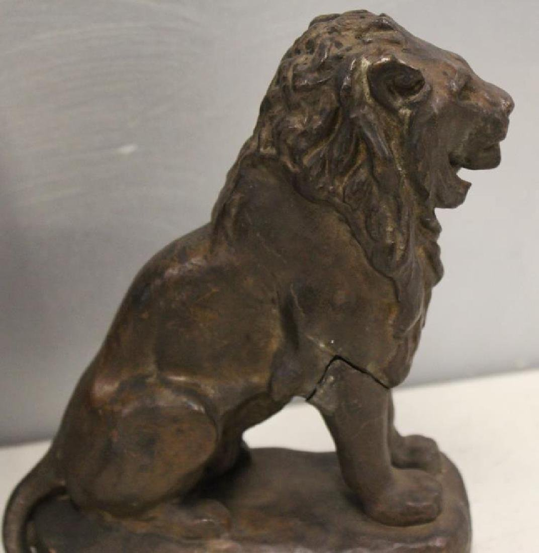 Grouping Of Antique Bronze Sculptures . - 5