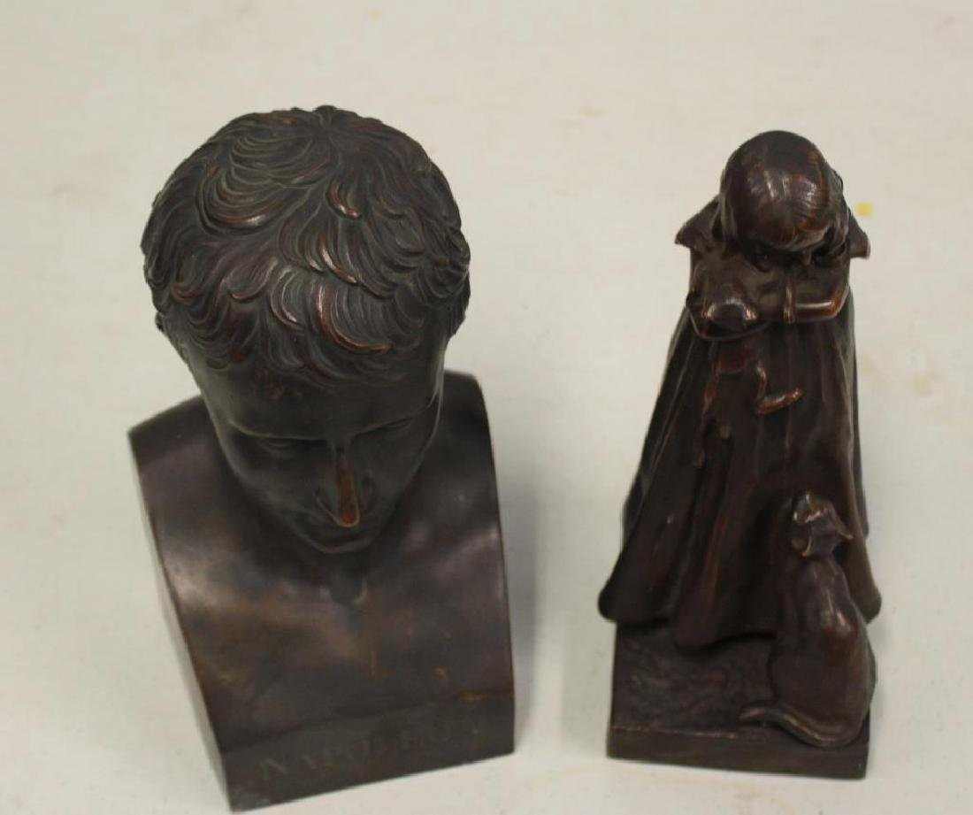 2 Henry Bonnard Foundry Bronze Sculptures . - 10