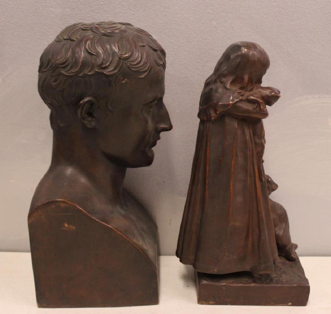 2 Henry Bonnard Foundry Bronze Sculptures . - 2