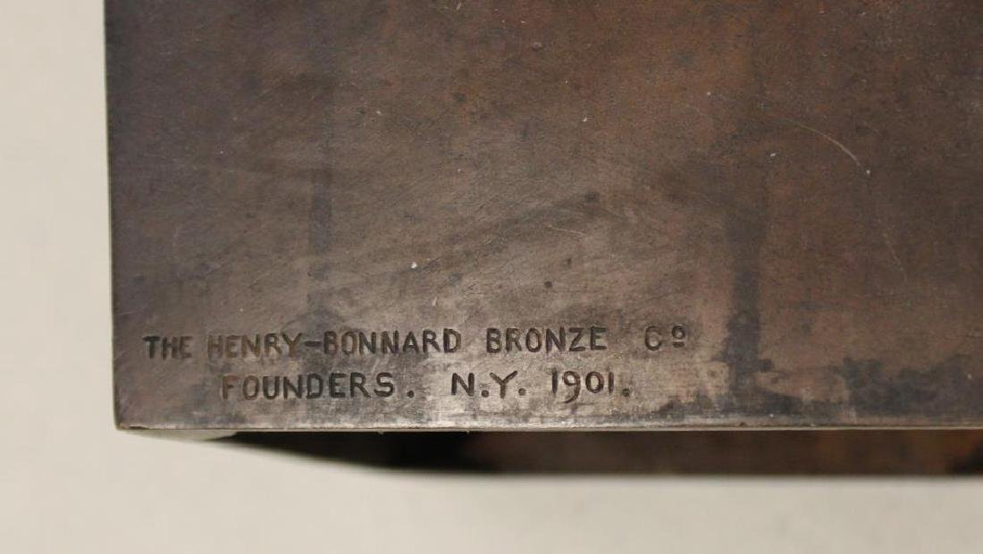 2 Henry Bonnard Foundry Bronze Sculptures . - 6