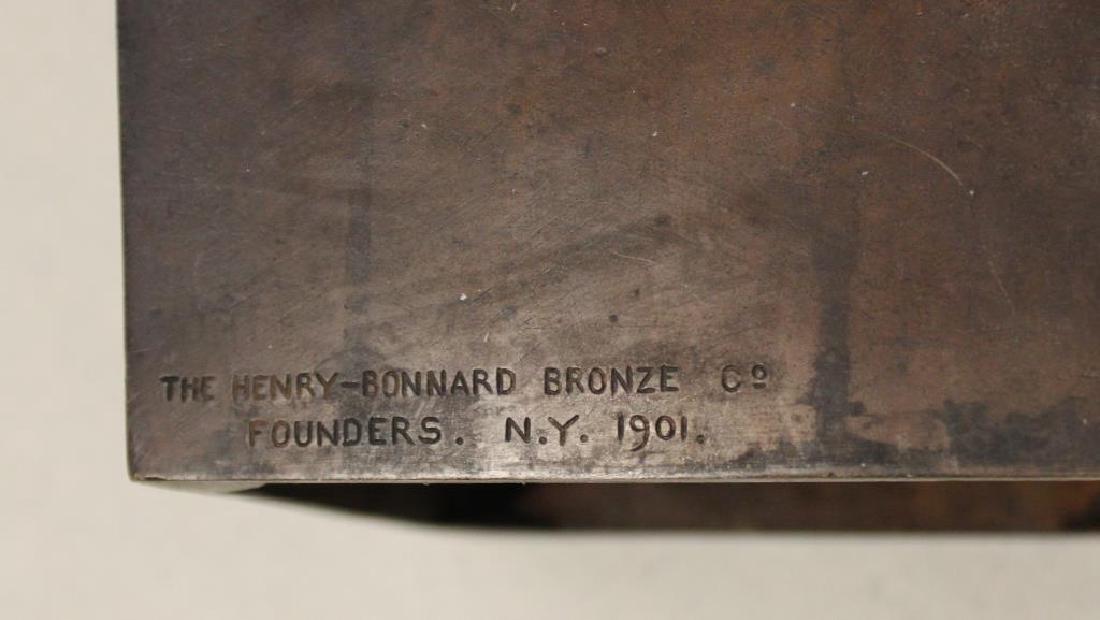 2 Henry Bonnard Foundry Bronze Sculptures . - 6
