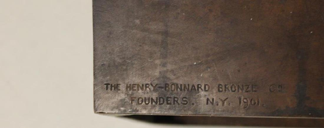 2 Henry Bonnard Foundry Bronze Sculptures . - 7