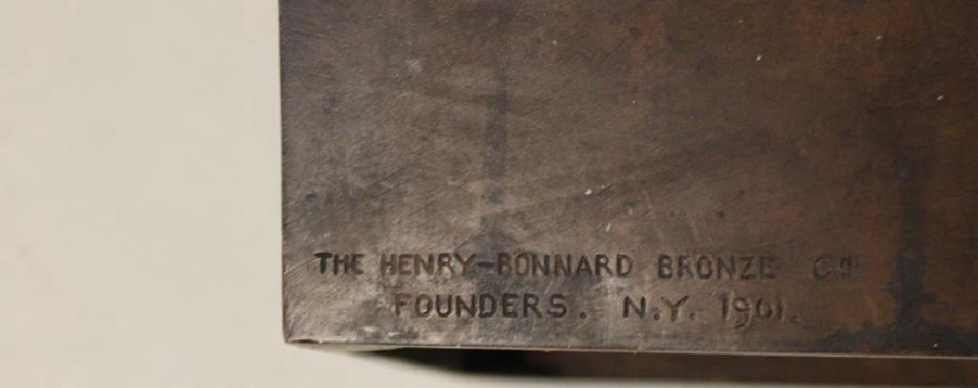 2 Henry Bonnard Foundry Bronze Sculptures . - 7