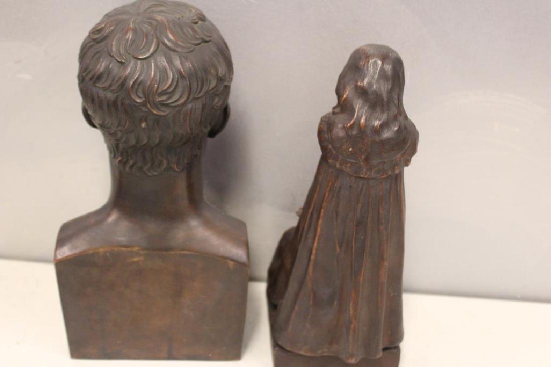 2 Henry Bonnard Foundry Bronze Sculptures . - 9