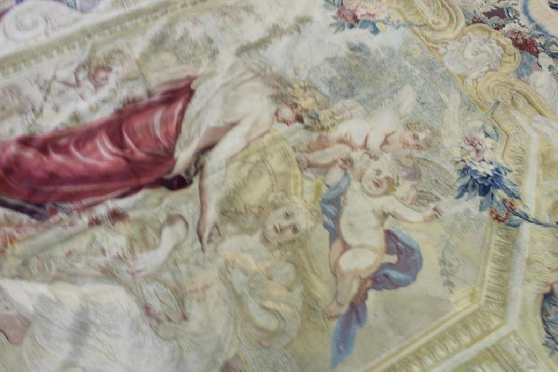 Magnificent Antique Continental Tapestry - 5