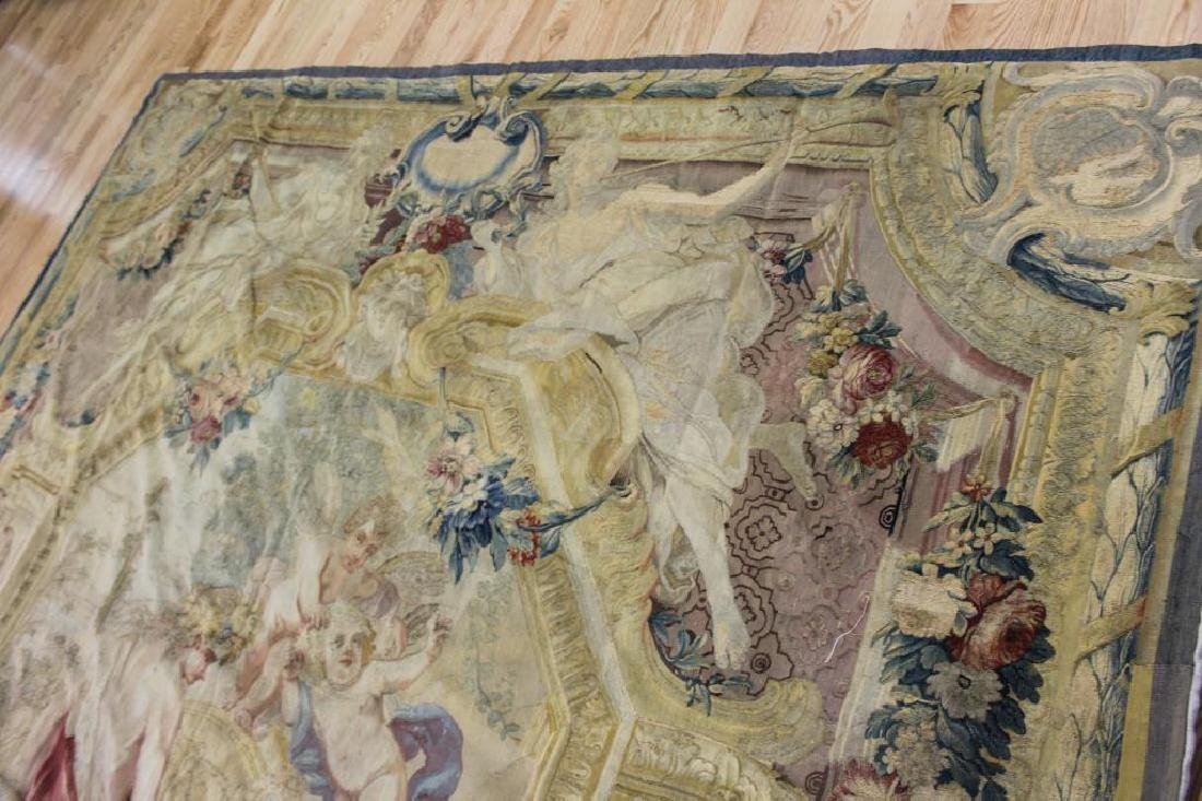 Magnificent Antique Continental Tapestry - 6