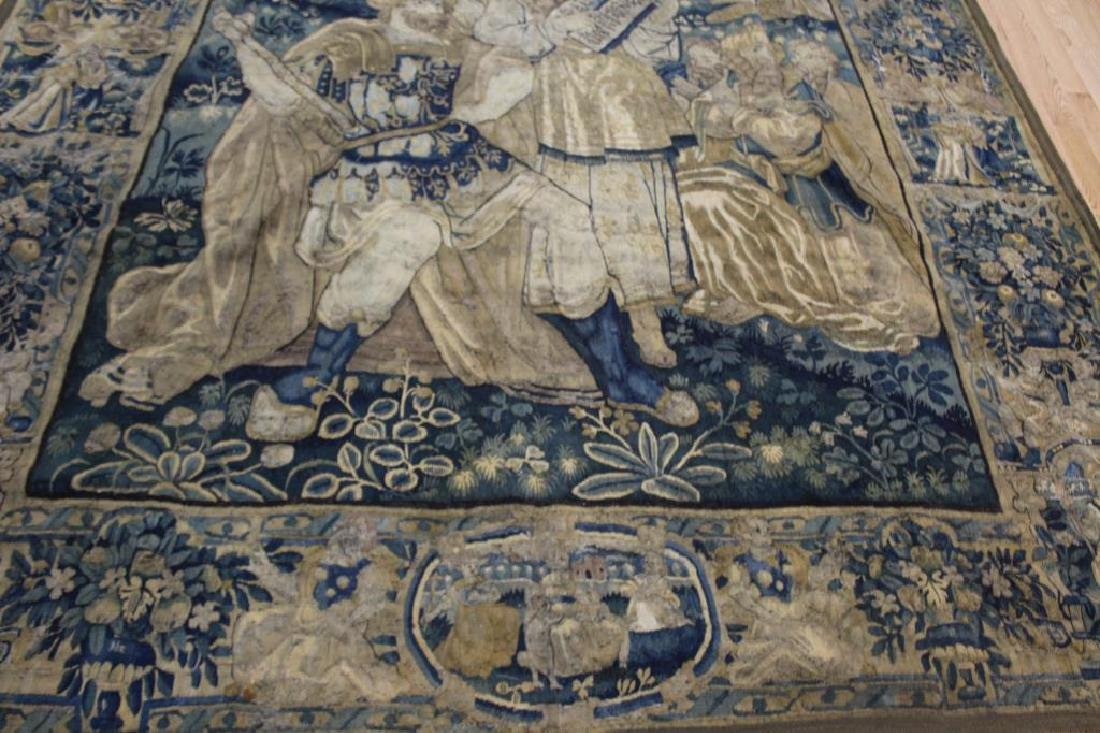 Magnificent Antique  Continental Tapestry - 3